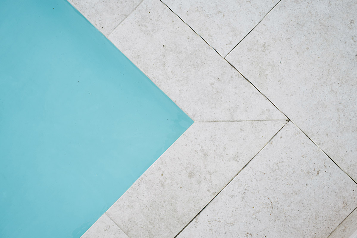 Beautiful and skillful pool paving in Perth