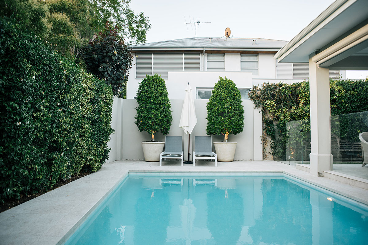 A pool treated with professional pool and landscape design will be truly stunning