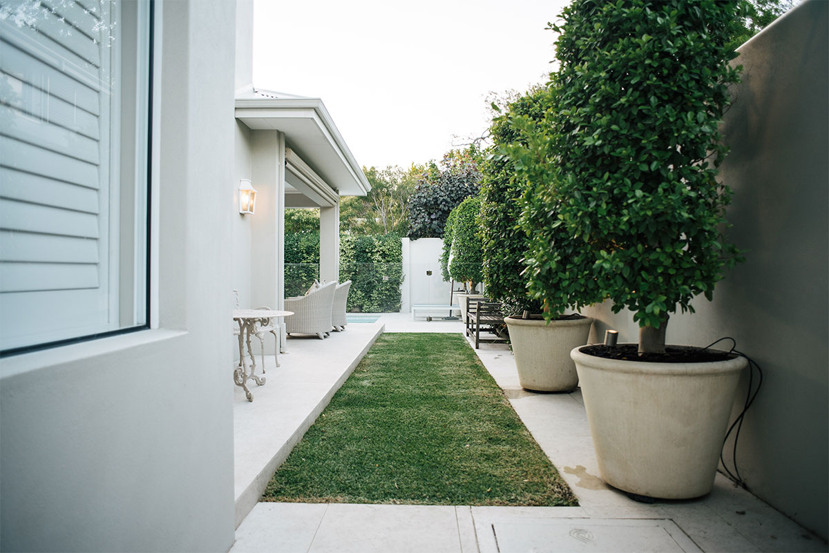Professional garden design will make most of any space to enhance a residence in Perth
