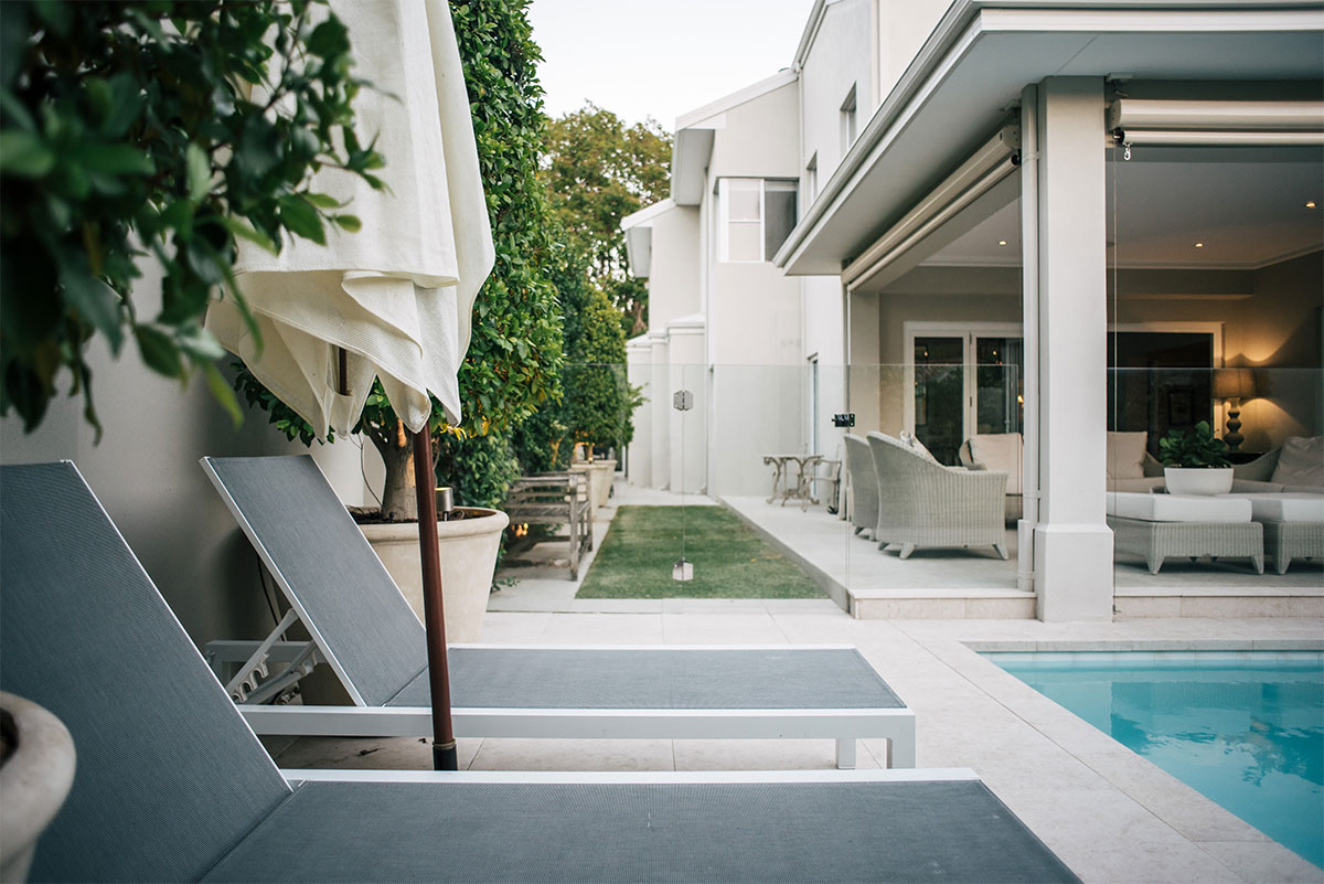 Pool design and landscaping in perth