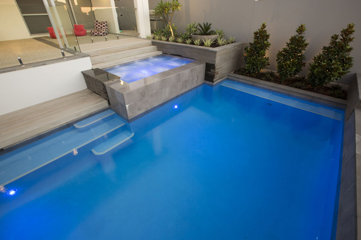Pool paving and landscaping in Perth