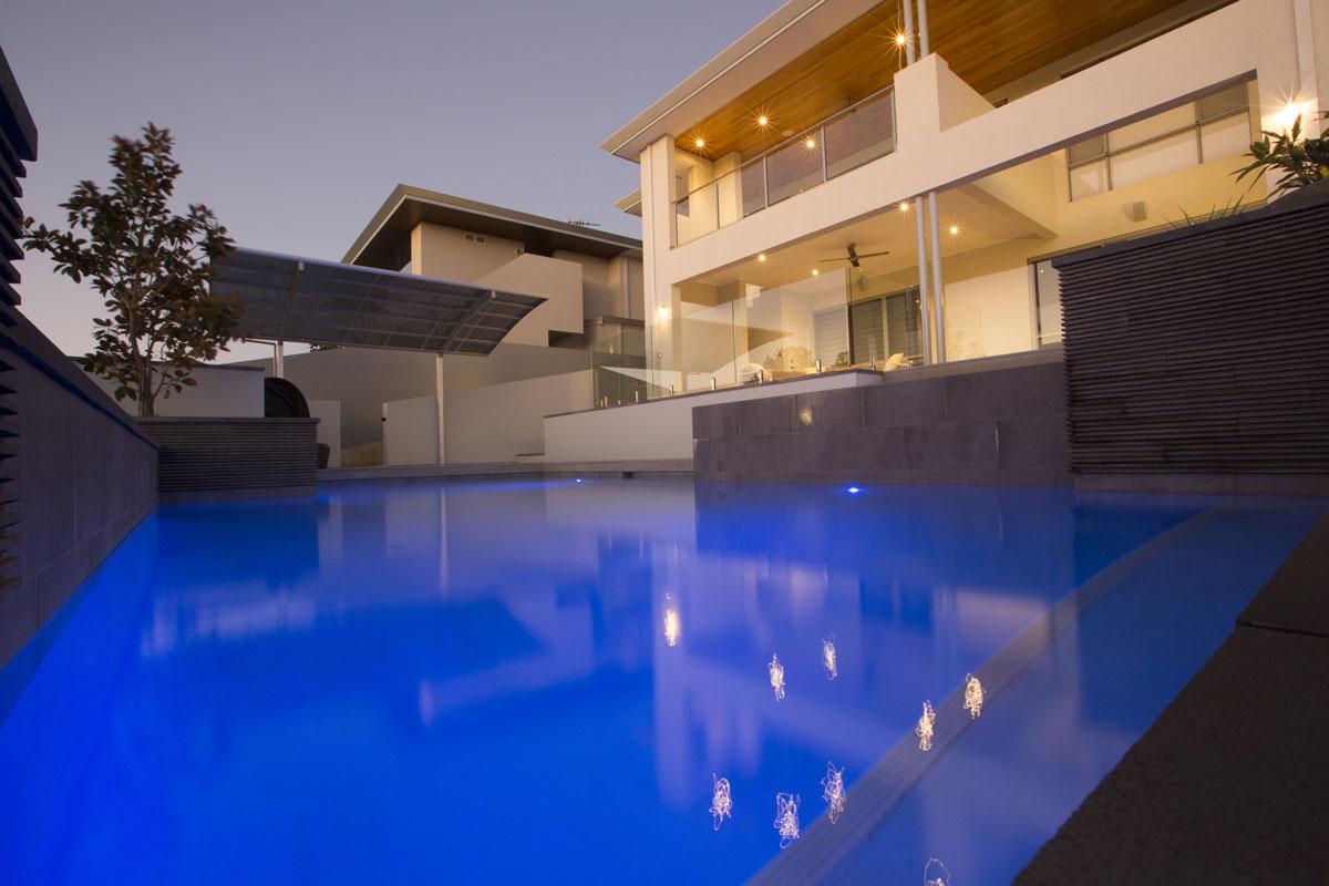 Pool lighting in Perth