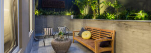 High garden beds make the most of small spaces