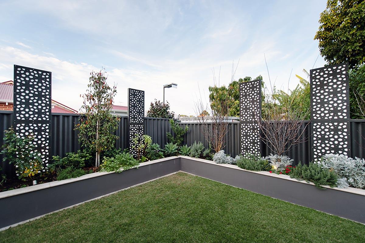 Very unique garden screening in Perth