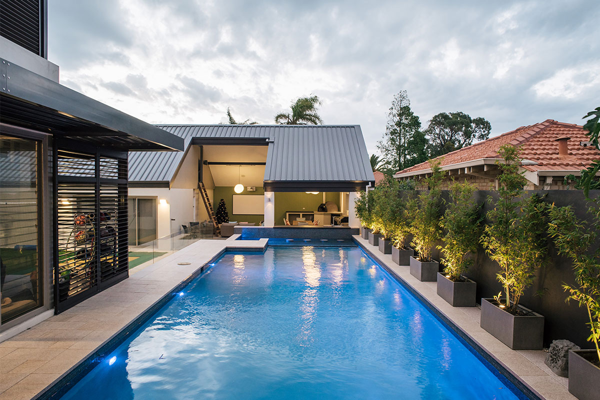 Maximising space at this Nedlands home with professional landscape design