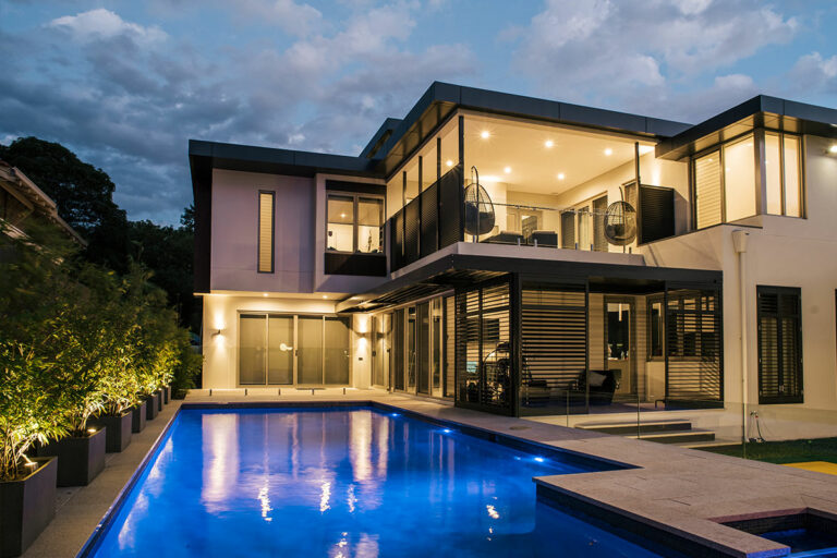 Professional pool lighting design and layout will create the wow factor
